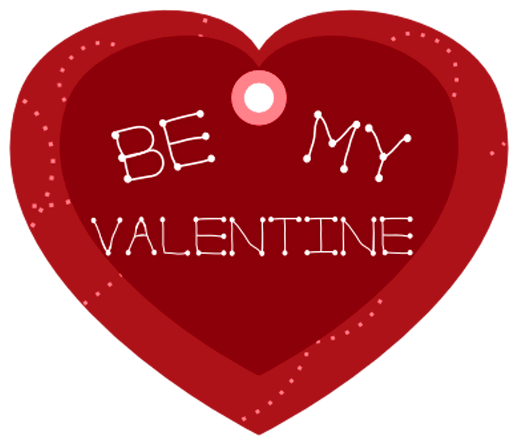 Valentine transparent be my. Red heart png picture