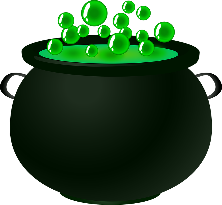 witch pot png