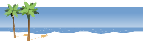 Playa vector background. Beach png transparent images