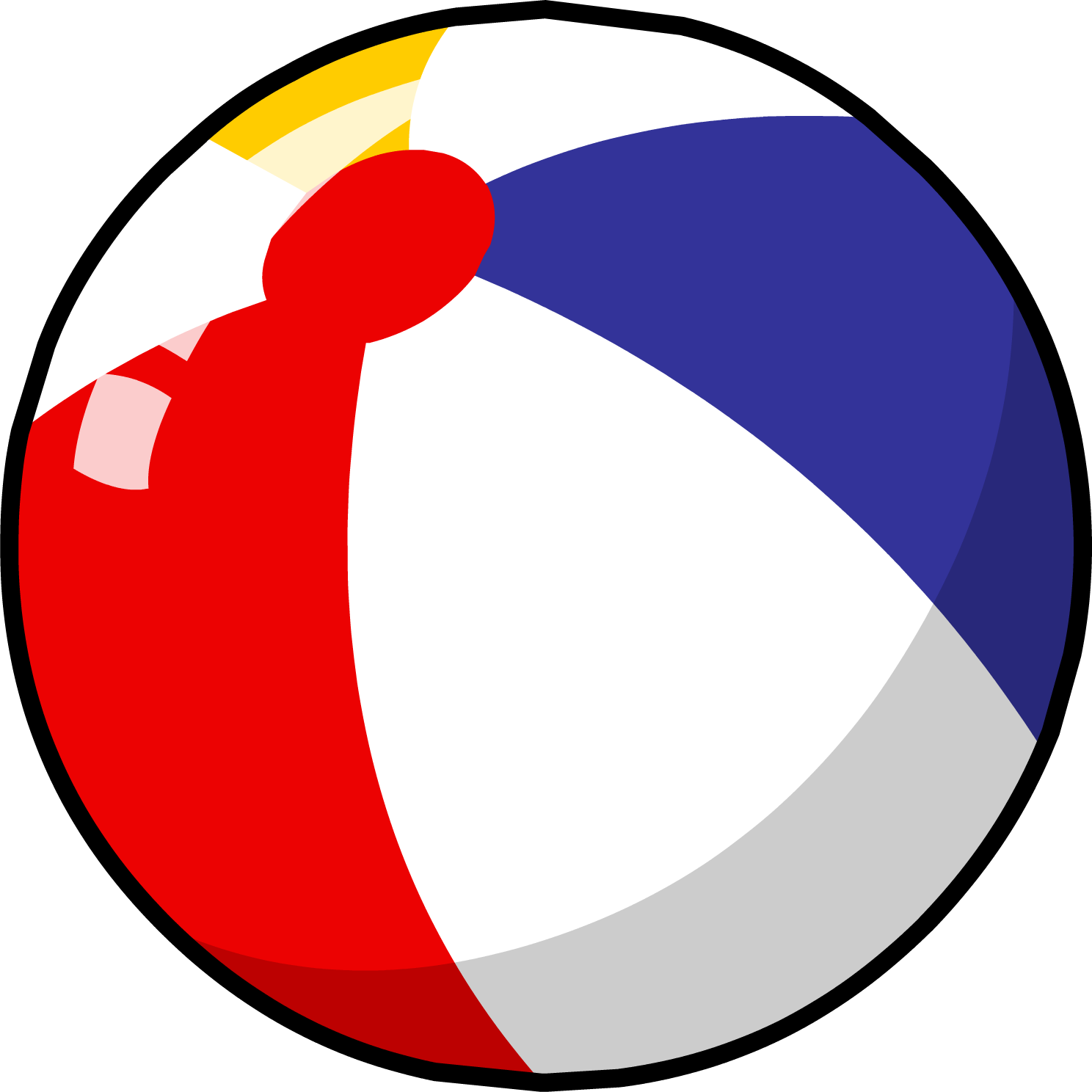 Beach ball png. Image club penguin wiki