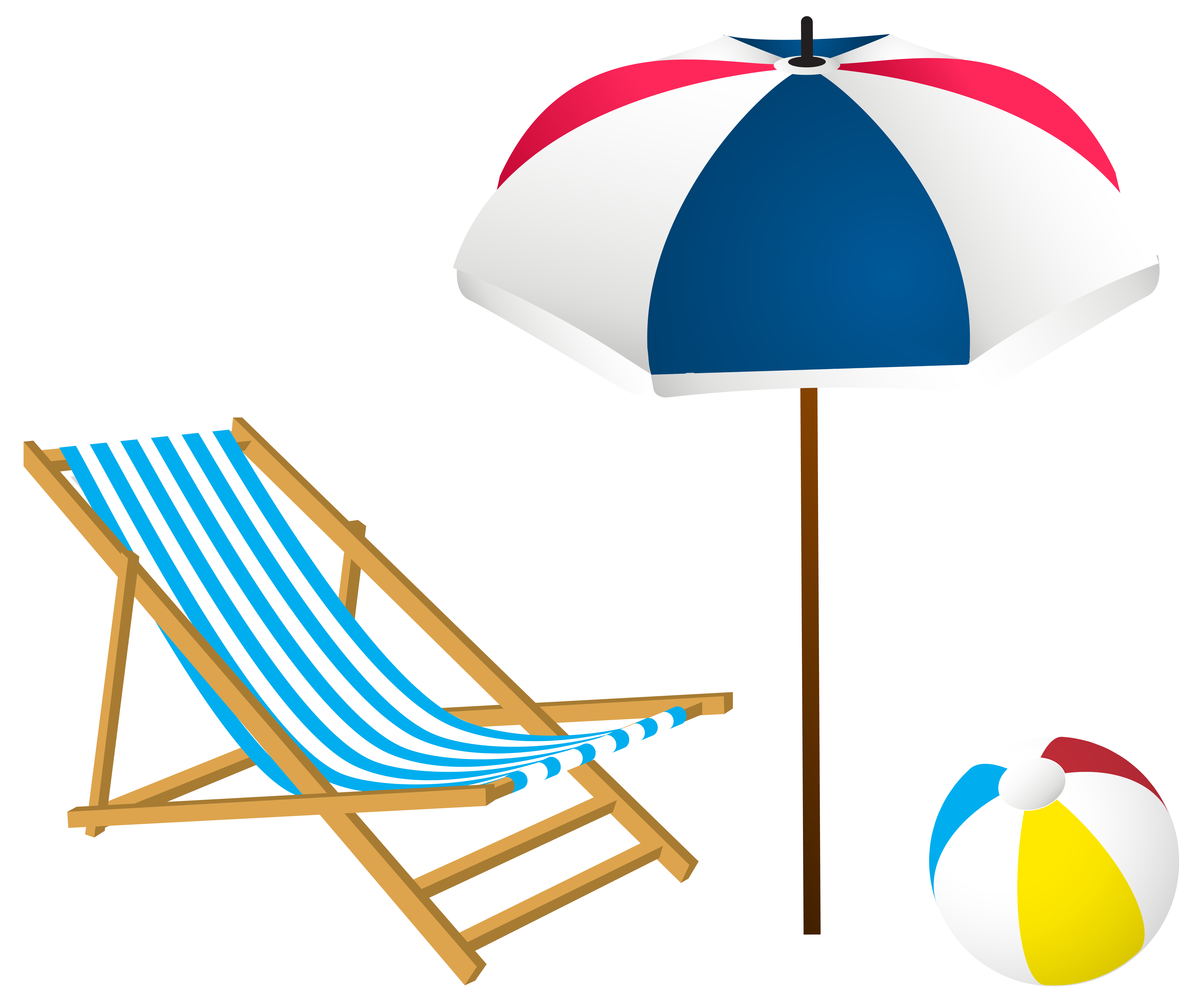 Beach clip art png. Summer set image gallery