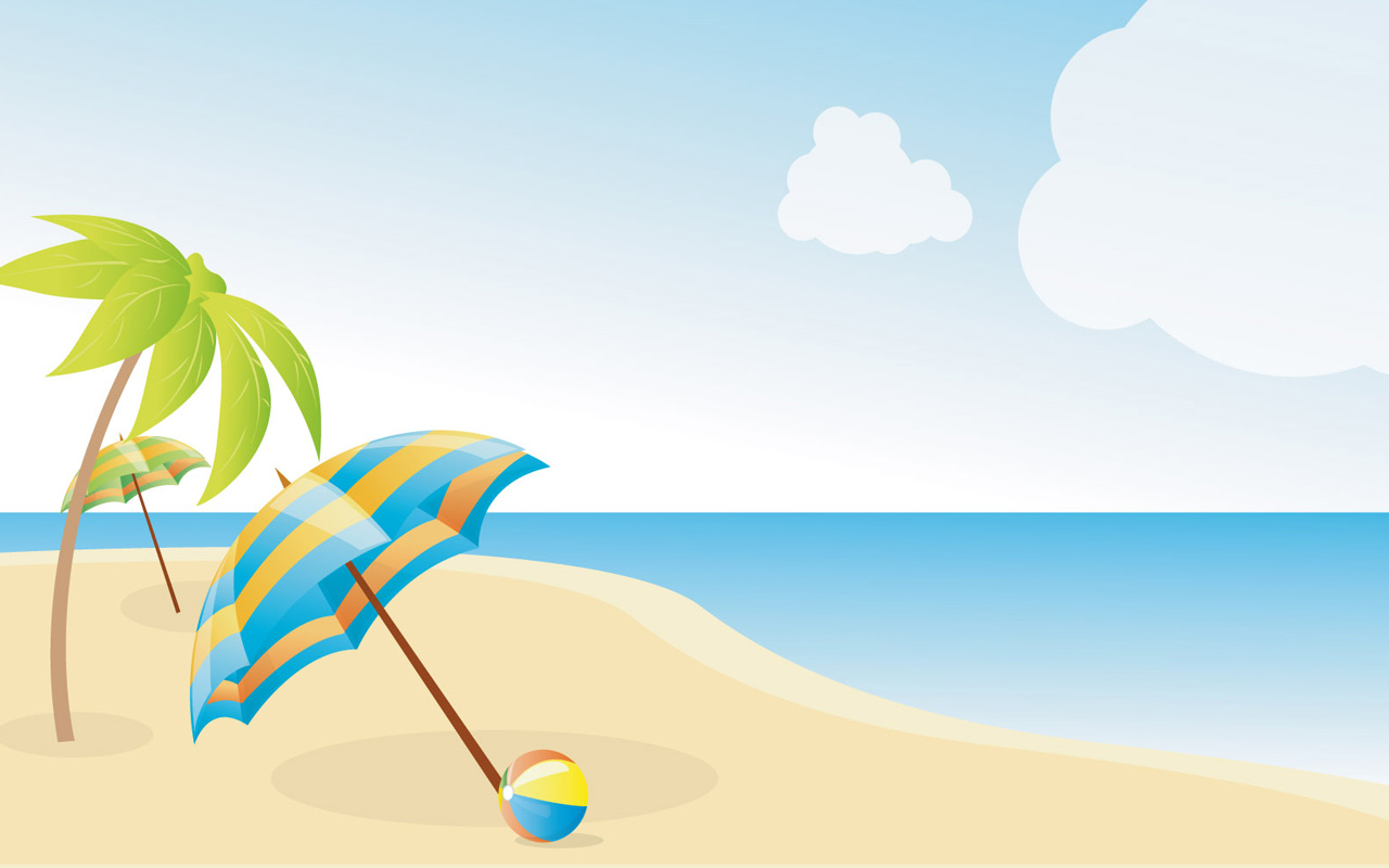 Beach clipart beach theme. Themed at getdrawings com