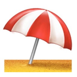 Image . Beach emoji png banner library