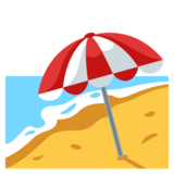 with umbrella on. Beach emoji png image royalty free