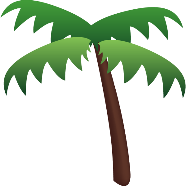 Download palm tree icon. Beach emoji png svg transparent library
