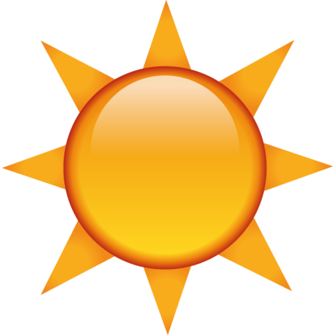Download the sun island. Beach emoji png vector royalty free download