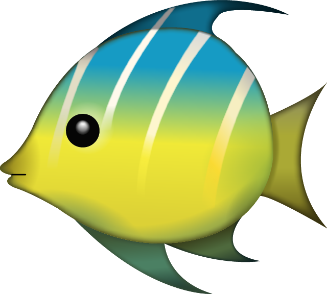 Download tropical fish image. Beach emoji png clipart royalty free download