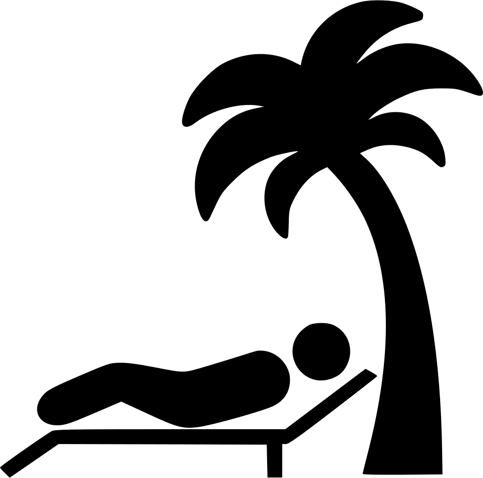 Beach images png. Lying on svg icon
