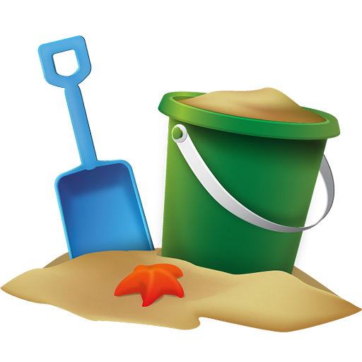 sand bucket png