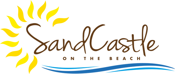 Beach logo png. Sand castle on the