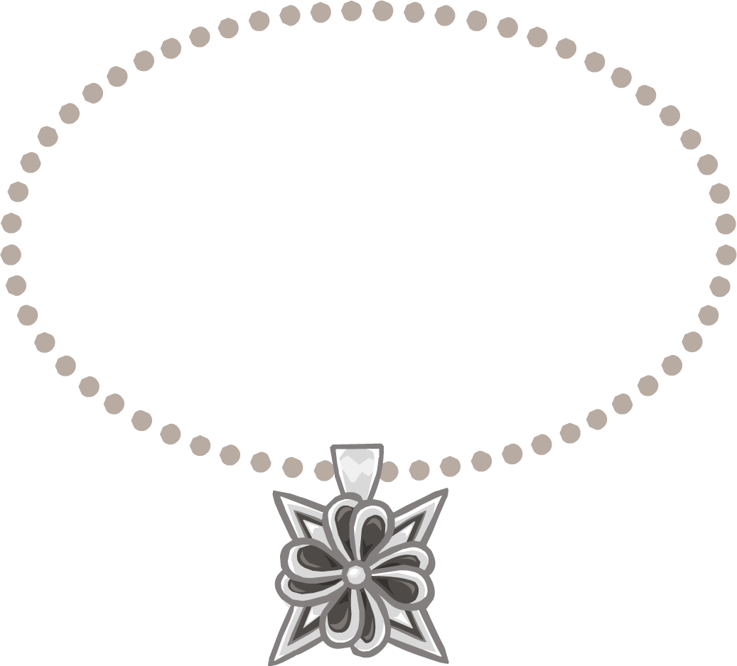 Beach necklace png