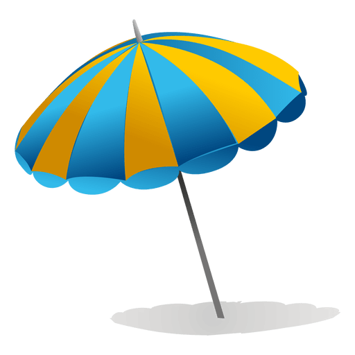Beach umbrella png. Transparent svg vector