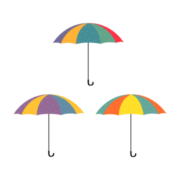 white umbrella png