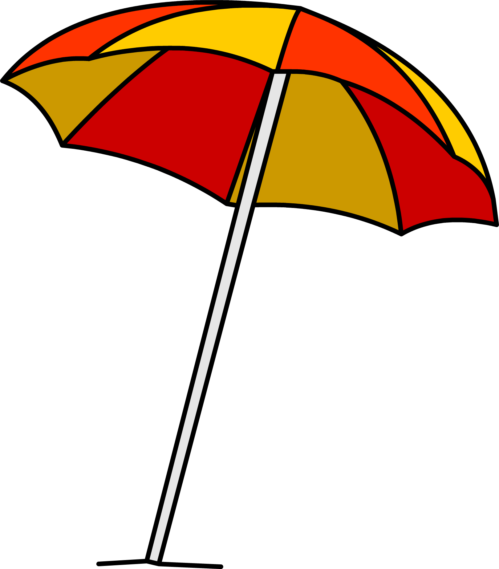 cartoon umbrella png