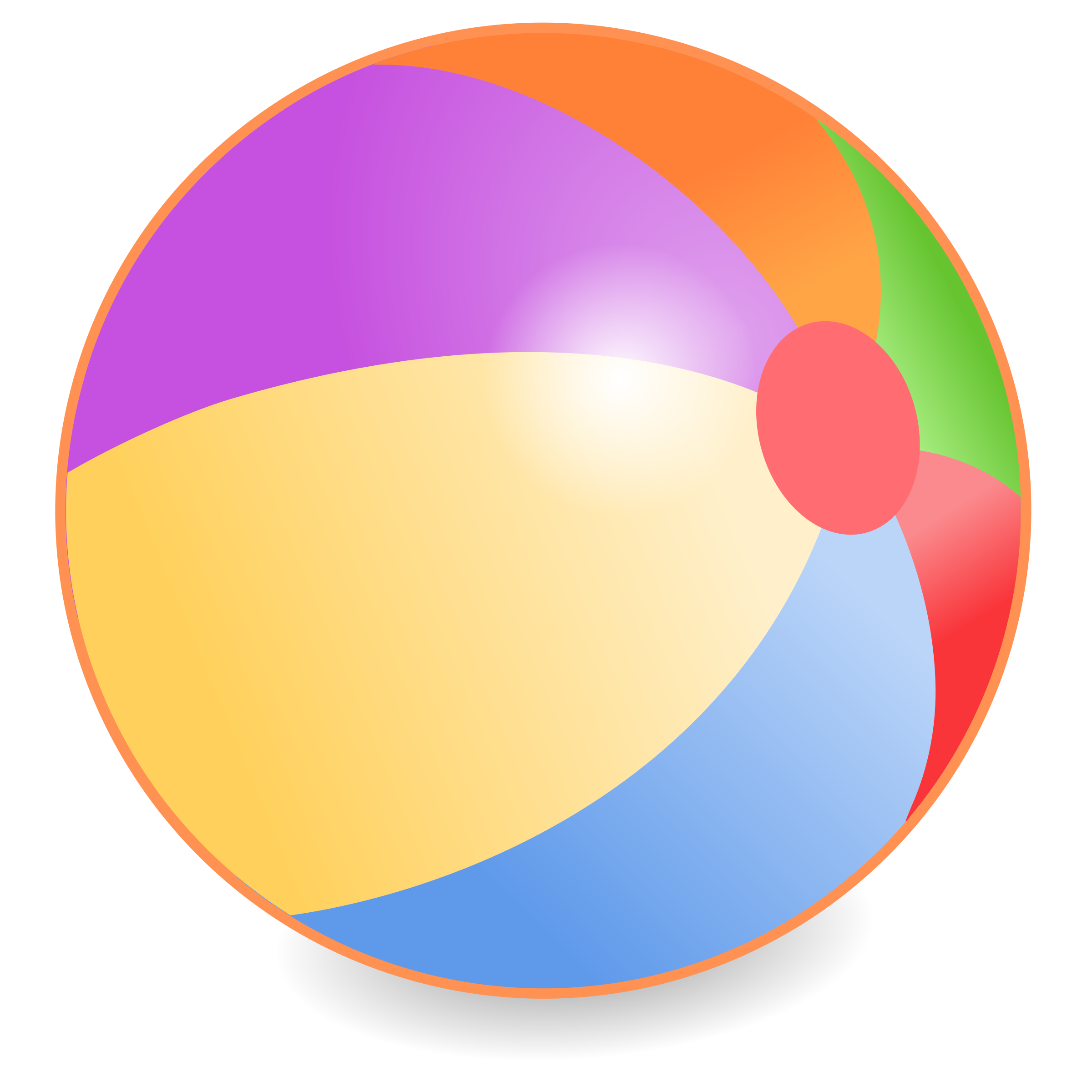 Beachball clipart. Big image png