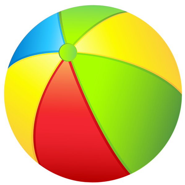 Beachball clipart beachy. Transparent beach ball png
