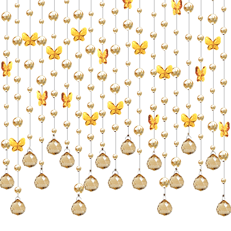 Beaded curtains png. Usd butterfly curtain crystal