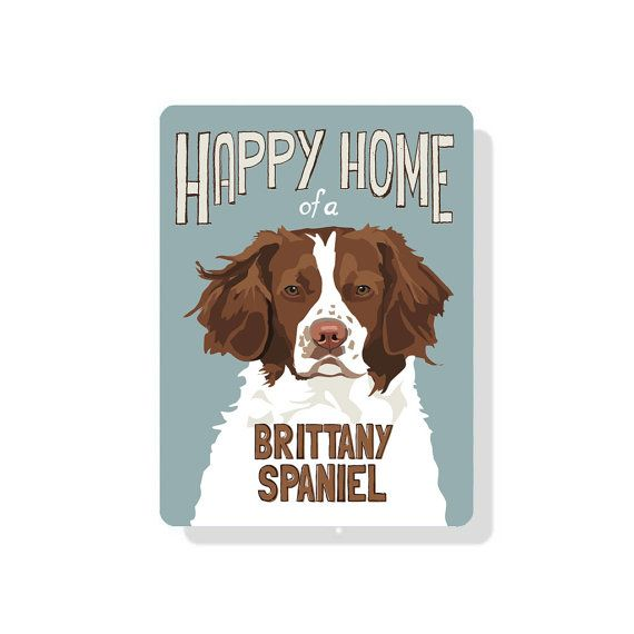 Beagle clipart brittany spaniel. Happy home of a