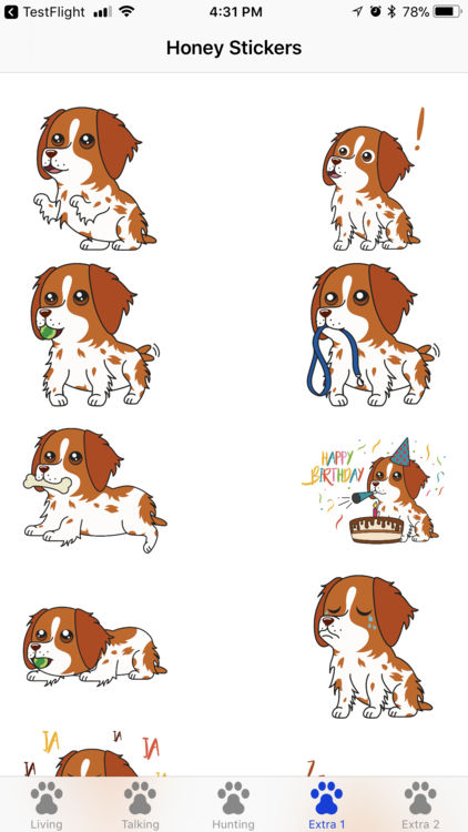 Beagle clipart brittany spaniel. Honey the by ryan