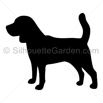 beagle svg vector
