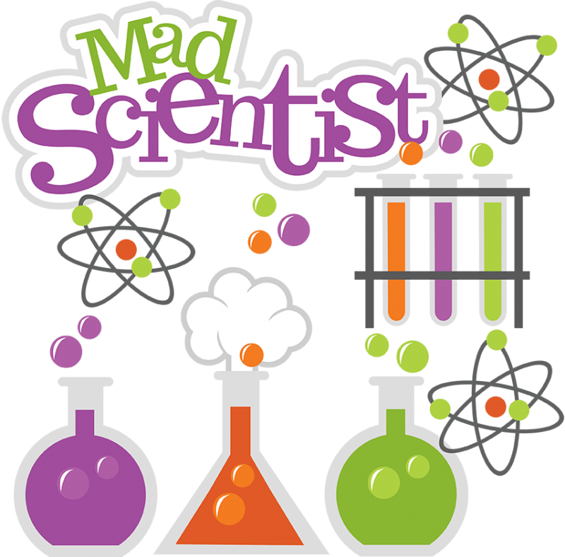 Mad lab png transparent. Woman clipart science jpg freeuse stock