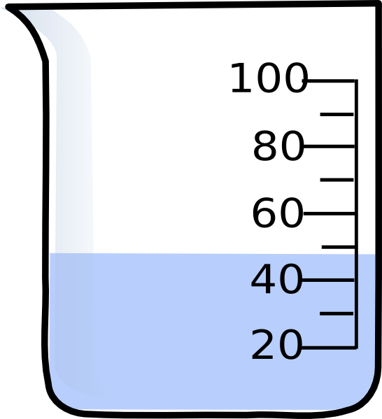 Beaker with liquid png. Clip art at clker