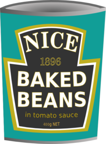 bean clipart tin bean