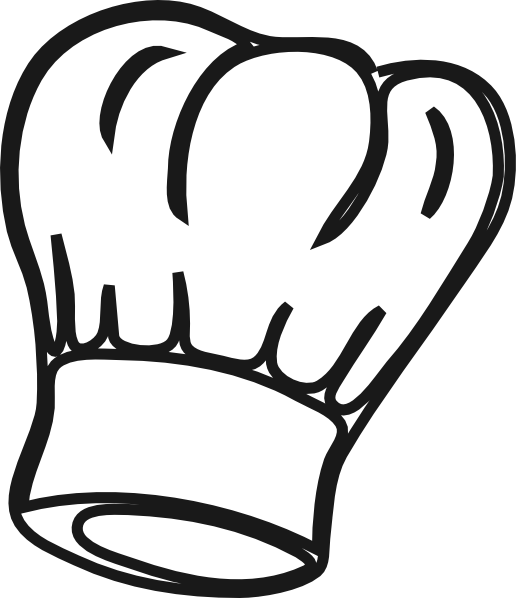 Chef hat transparent png. Ratatouille drawing culinary vector library