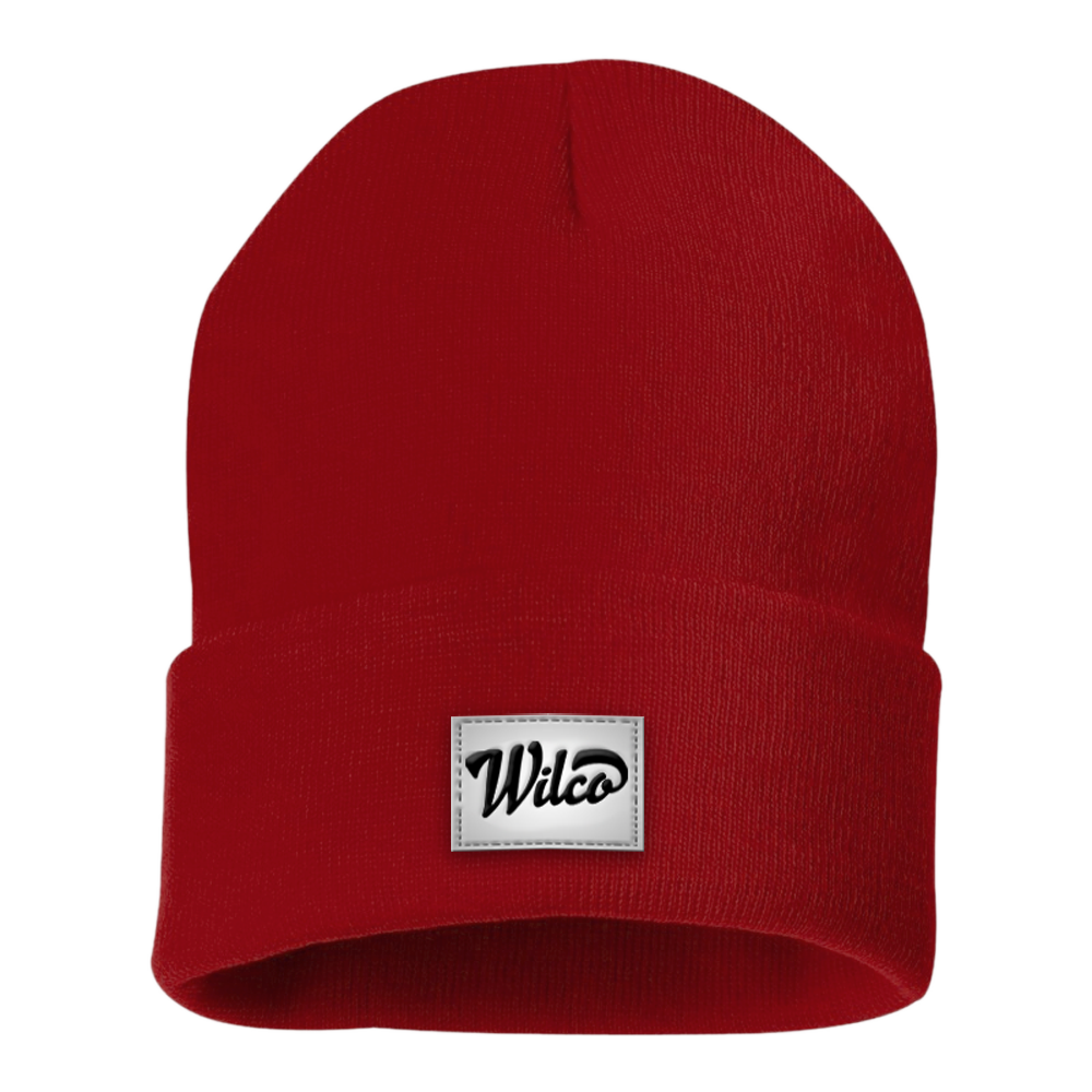 Png winter hat. Wilco europe knit red