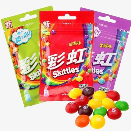Beans clipart rainbow candy. Product kind skittles chocolate