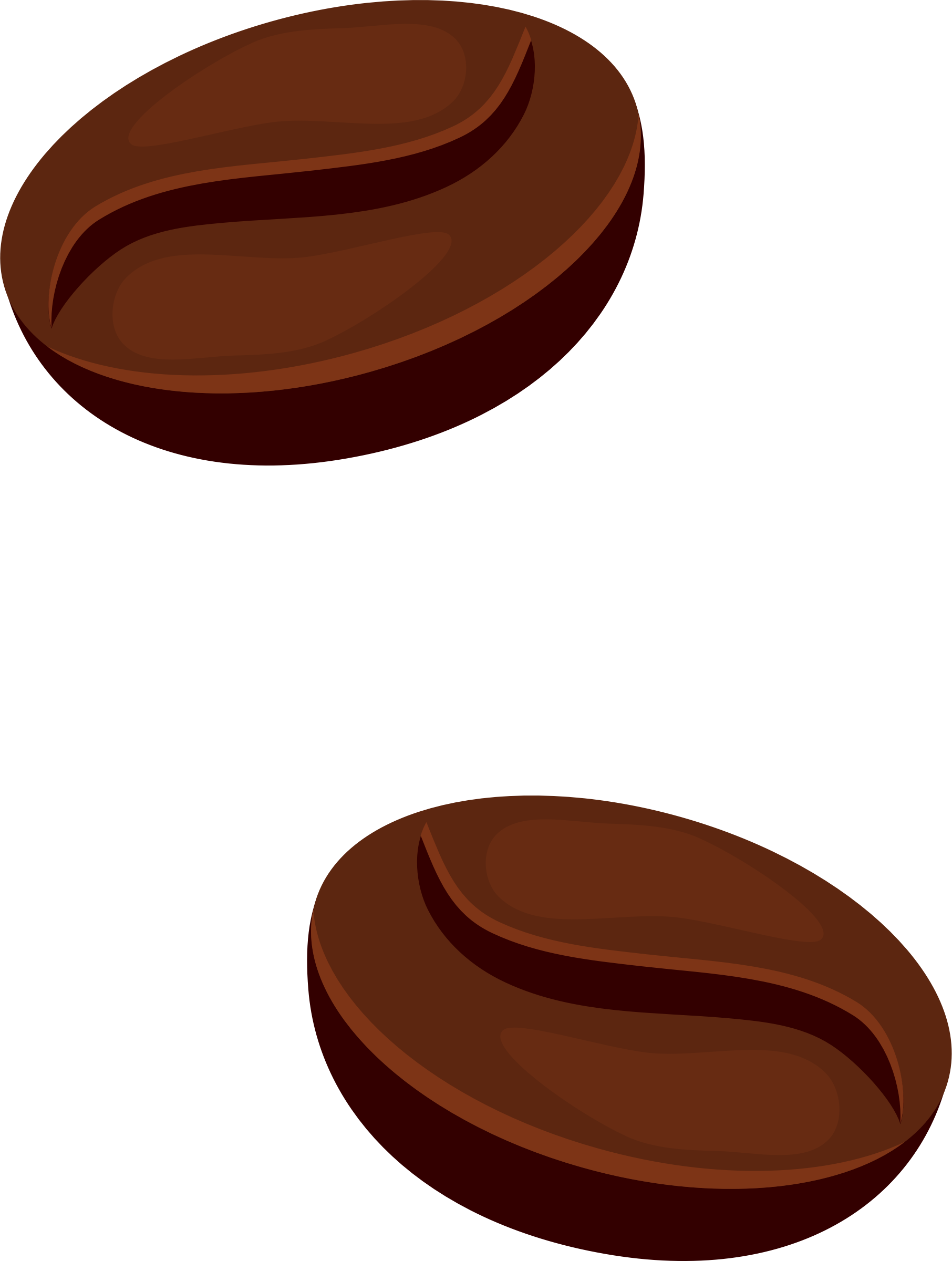 Beans vector clip art. Clipart coffee big image