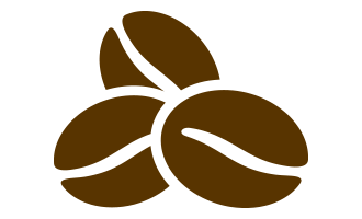 Beans vector coffee symbol. Icons png free and