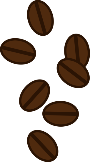 Beans vector sketch. Scattered coffee pinterest and