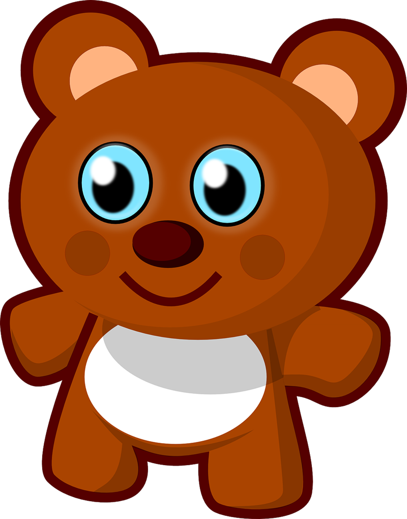Bear clip art. Free to use public