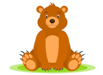 Free clipart pictures graphics. Bear clip art black and white download