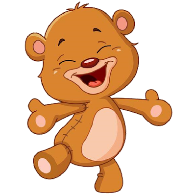 Bear clip art cartoon. Cute baby bears clipart