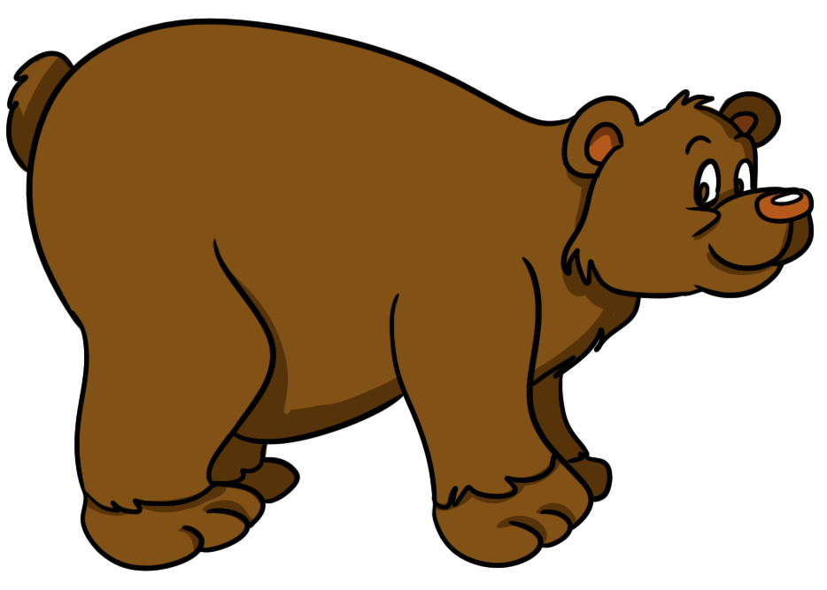 Bear clip art cartoon. Free pictures download on