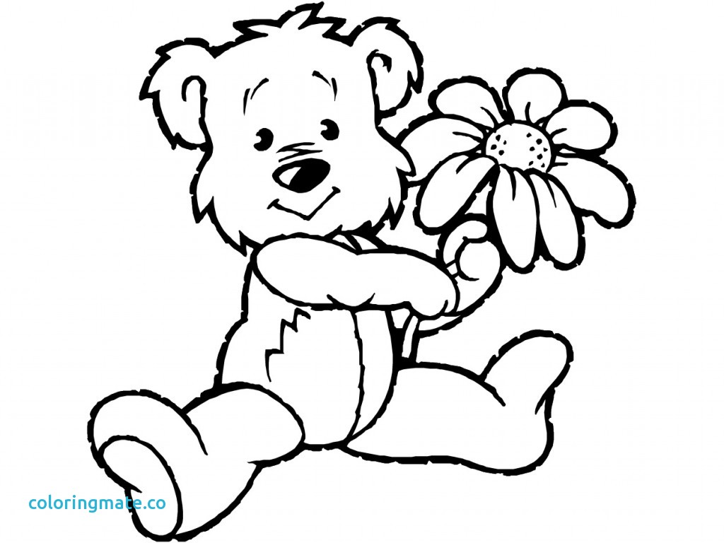 Bear clip art coloring. Care pages best of