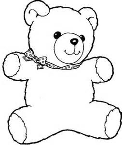 Bear clip art coloring. Teddy lots of images