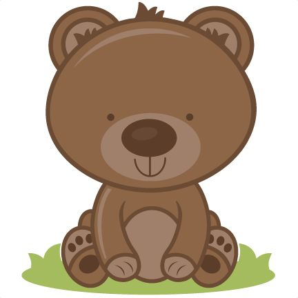 Bear clip art cute. Best animal clipart