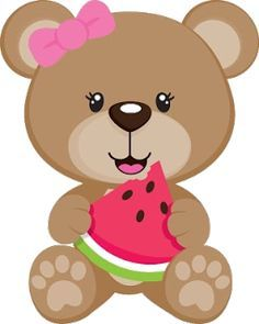 Bear clip art cute. Clipart summer teddy baby