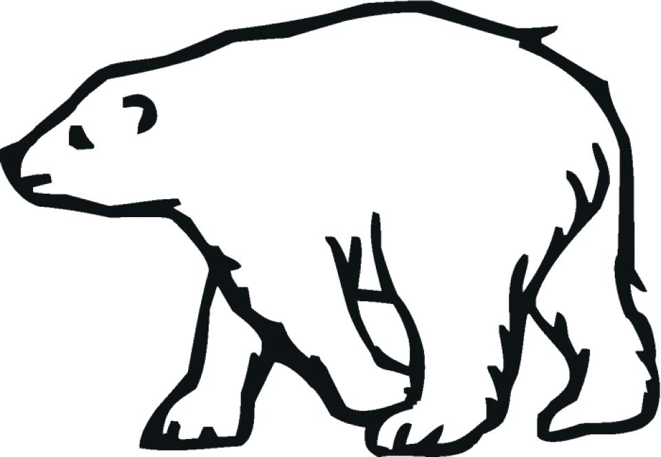 bear clip art easy