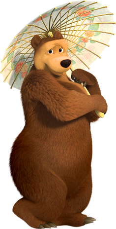 Bear clip art masha and. Projects the