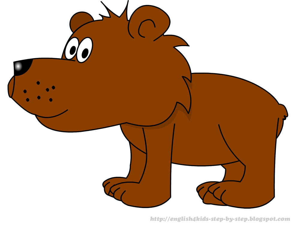 Bear clip art realistic. Cartoon clipart panda free
