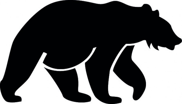 Black at getdrawings com. Bear clip art silhouette pattern clipart royalty free stock