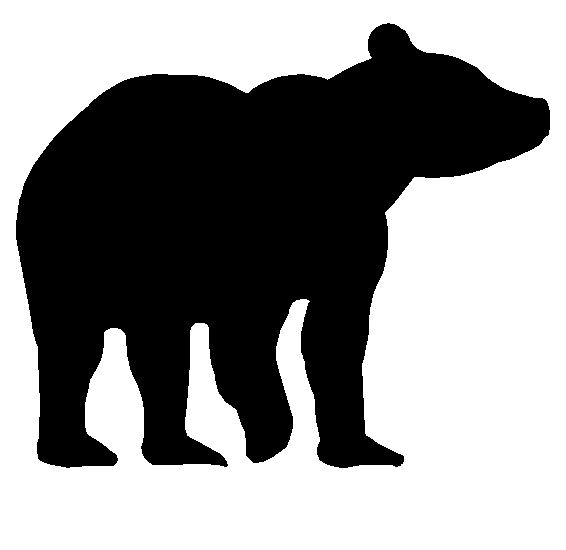 At getdrawings com free. Bear clip art silhouette pattern graphic library stock