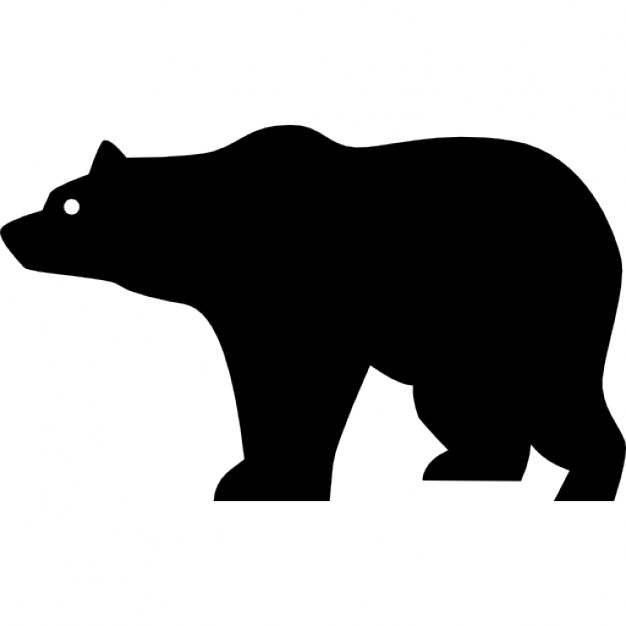 Bear clip art silhouette pattern. At getdrawings com free