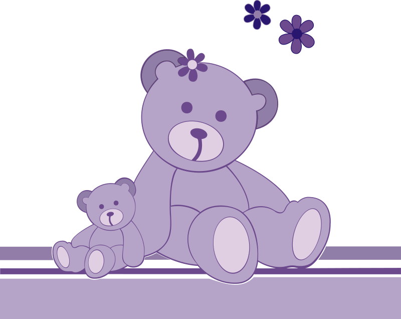 Free teddy . Bear clip art simple image black and white library