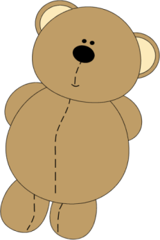 Day clipart stuffed animal. Simple decoration teddy bear