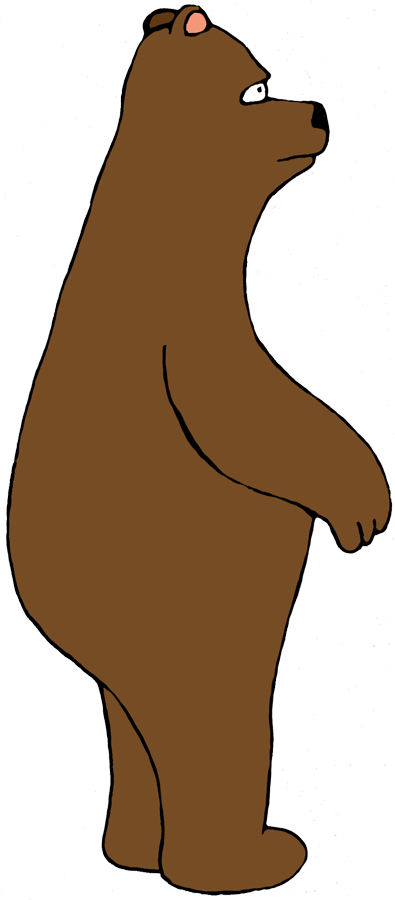 standing bear png